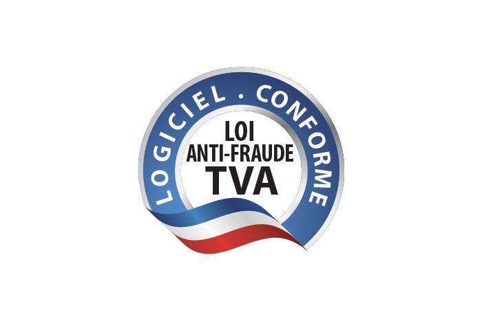 Logo logiciel anti fraude à la tva